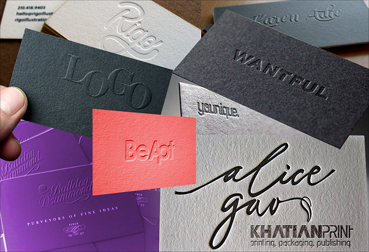 Embossed engraved business cards print shop stamped imprinted embossed engraved business cards engraving emboss visiting card reheart Gallery