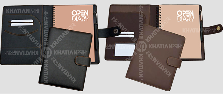 corporate open diary company business complimentary gift diaries | khatian print